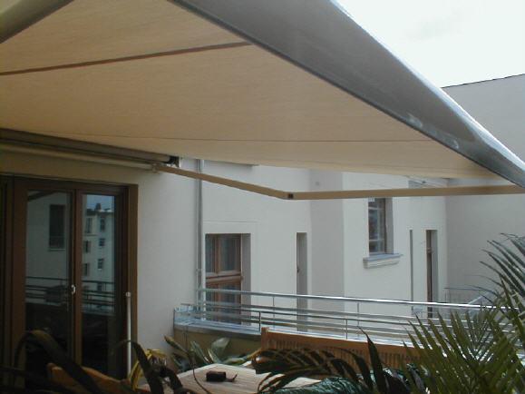 Balkon Markise Ohne Bohren Aus Metall With Balkon Markise